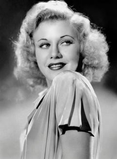 Ginger Rogers Smiling in the Studio Globe Photos Fine Art Print