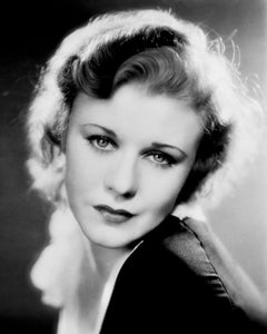 Ginger Rogers: Those Eyes Globe Photos Fine Art Print
