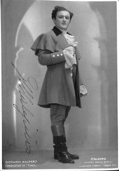 Giovanni Malipiero Original Photograph - 1940s