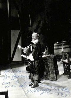 Giuseppe Taddei Autographed Photograph - 1971