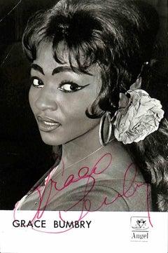 Grace Bumbry Autographed Photograph - 1960