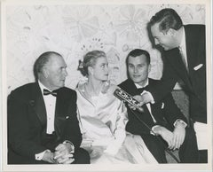 Grace Kelly Pictured with her Father and Brother in 1955