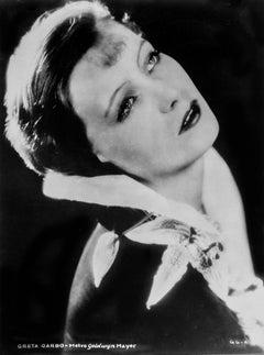 Greta Garbo Looking Up Fine Art Print