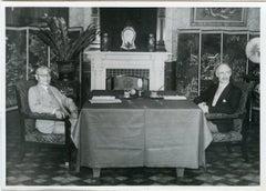 Hachiro and Craigie - Vintage Photo 1939