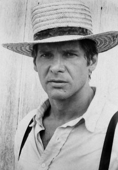 """Harrison Ford in """"The Witness""""- Vintage Photograph - 1985"""