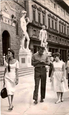 Harry Belafonte in Florence - Original Photos - 1960s
