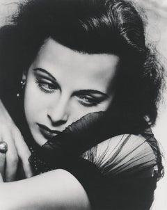 Hedy Lamarr Stunning Closeup Globe Photos Fine Art Print