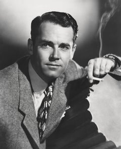 Henry Fonda Smoking Globe Photos Fine Art Print