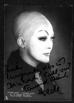 Hildegard Uhrmacher Autographed Photograph - Late 20th Century