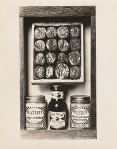 Homage to Joseph Cornell (Old Monk Cherries / Post's Bran Flakes)