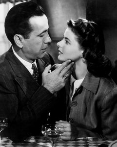 "Humphrey Bogart and Ingrid Bergman ""Casablanca"" Globe Photos Fine Art Print"