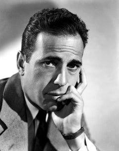 Humphrey Bogart Deep in Thought Globe Photos Fine Art Print