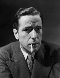 Humphrey Bogart Smoking Globe Photos Fine Art Print