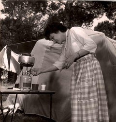 In the Camping - Vintage Photograph - 1960s