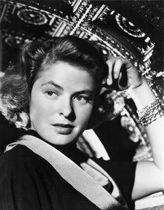 Ingrid Bergman: A Portrait of Elegance Fine Art Print