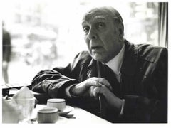 Interview to Jorge Luis Borges - Photos and Typescripts by Pino Cimò - 1974