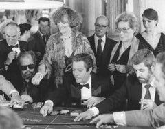 Italian Actor Marcello Mastroianni - Vintage Photograph - 1985