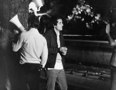 Italian Director Marco Bellocchio - Vintage b/w Photograph - 1970s