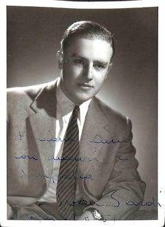 Ivan Sardi Autographed Photograph - 1951