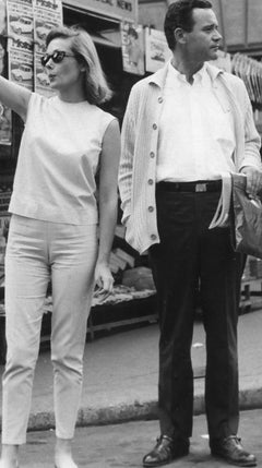 Jack Lemmon and Felicia Farr - Vintage Photograph - 1962