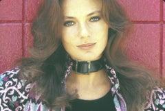 Jacqueline Bisset Closeup on Red Fine Art Print
