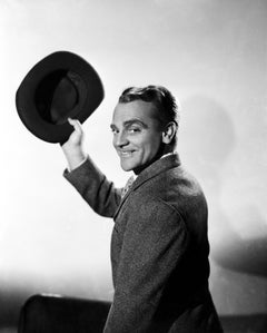 James Cagney Waving with Hat Movie Star News Fine Art Print