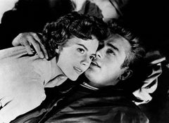 """James Dean and Natalie Wood """"Rebel Without A Cause"""" Globe Photos Fine Art Print"""