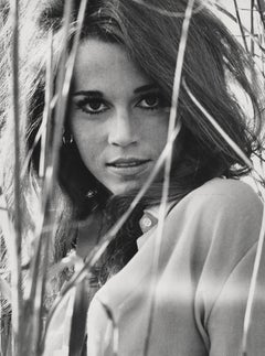Jane Fonda Outdoors Fine Art Print
