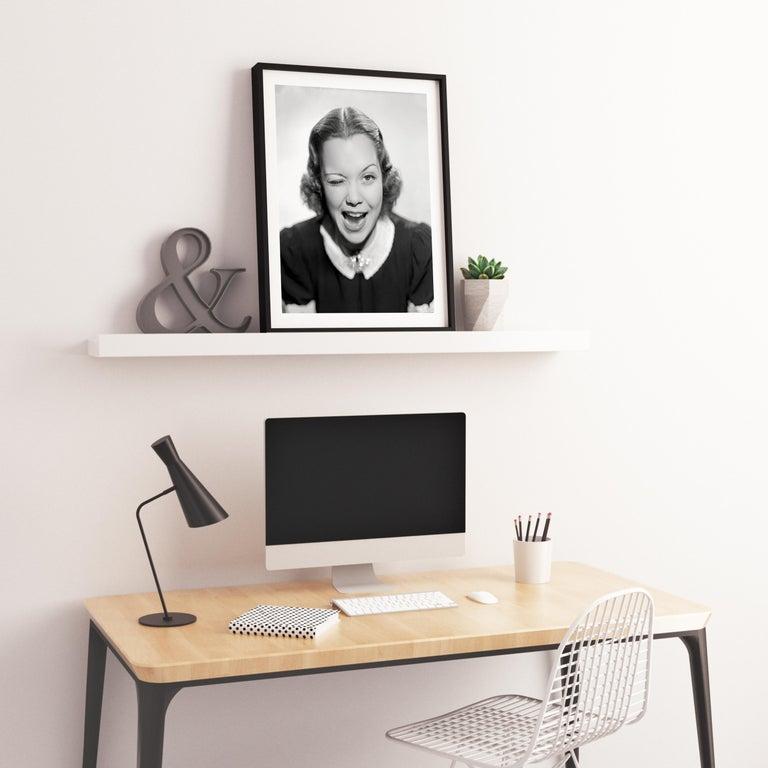 Jane Wyman Winking Movie Star News Fine Art Print For Sale 2