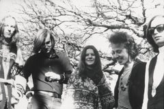 Janis Joplin and Big Brother and the Holding Company Globe Photos Fine Art Print