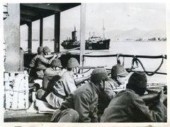 Japanese Troops - Vintage Photo 1938