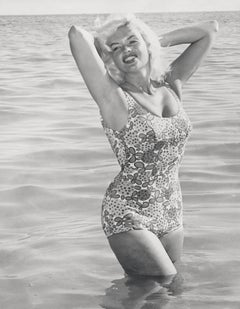 Jayne Mansfield in Bathing Suit Fine Art Print