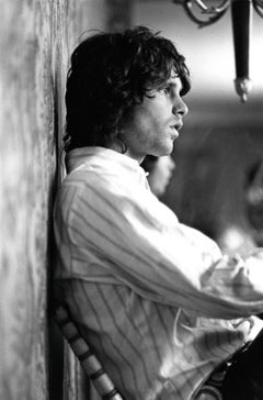 Jim Morrison of The Doors Profile Portrait Vintage Original Photograph