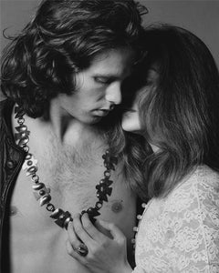 Jim Morrison, The Doors, with model Donna Mitchell, 1967