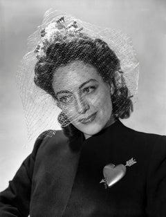 Joan Crawford in Veil Movie Star News Fine Art Print