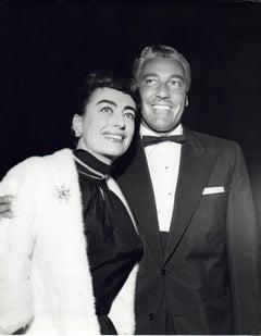 Joan Crawford Posing with Cesar Romero Vintage Original Photograph