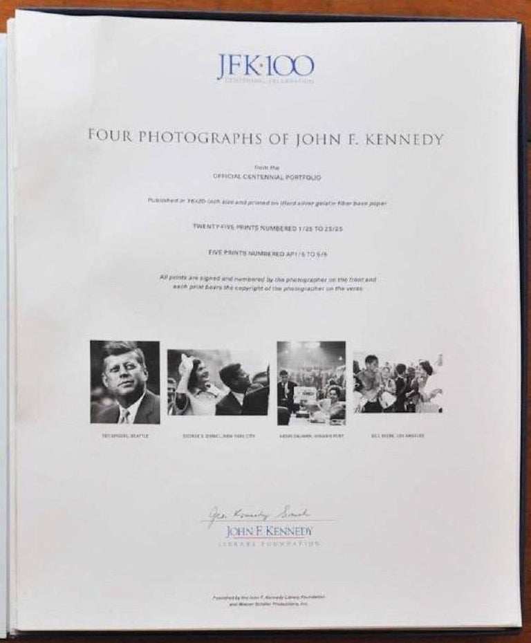 John F. Kennedy 100th Anniversary Box Set - Photograph by Unknown