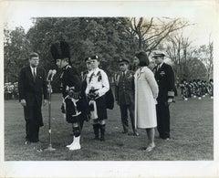 John Fitzgerald and Jacqueline Kennedy... - Original Vintage Photo - 1960s
