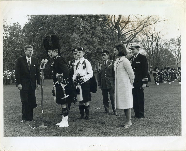 Unknown Black and White Photograph - John Fitzgerald and Jacqueline Kennedy... - Original Vintage Photo - 1960s
