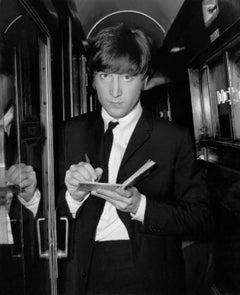 "John Lennon ""A Hard Days Night"" Globe Photos Fine Art Print"