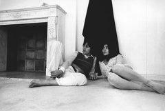 John Lennon and Yoko Ono: Hanging Out Fine Art Print