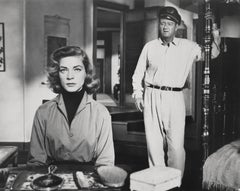 John Wayne and Lauren Bacall Fine Art Print
