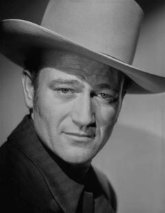 John Wayne Closeup Classical Portrait Movie Star News Fine Art Print