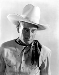 "John Wayne ""Overland Search Riders"" Globe Photos Fine Art Print"