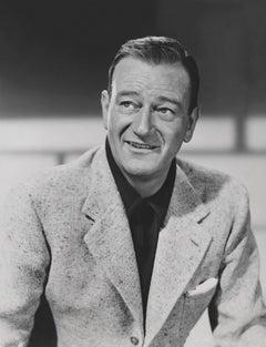 John Wayne Smiling Fine Art Print