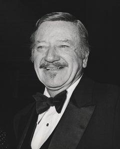 John Wayne Smiling in Bowtie Fine Art Print
