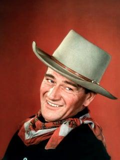 "John Wayne ""Tall in the Saddle"" Globe Photos Fine Art Print"