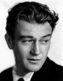 John Wayne Young and Handsome Classical Portrait Globe Photos Fine Art Print