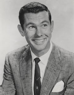 Johnny Carson Smiling Fine Art Print