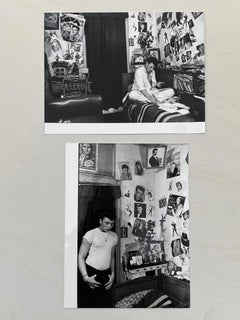 Johnny Hallyday In his room